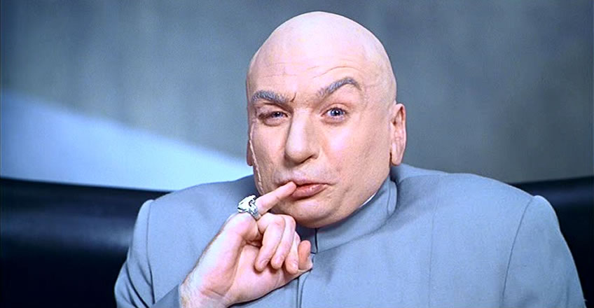 Cup Of Joe Powell: Dr. Evil Running Congress?