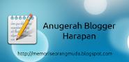 Anugerah Blogger Harapan