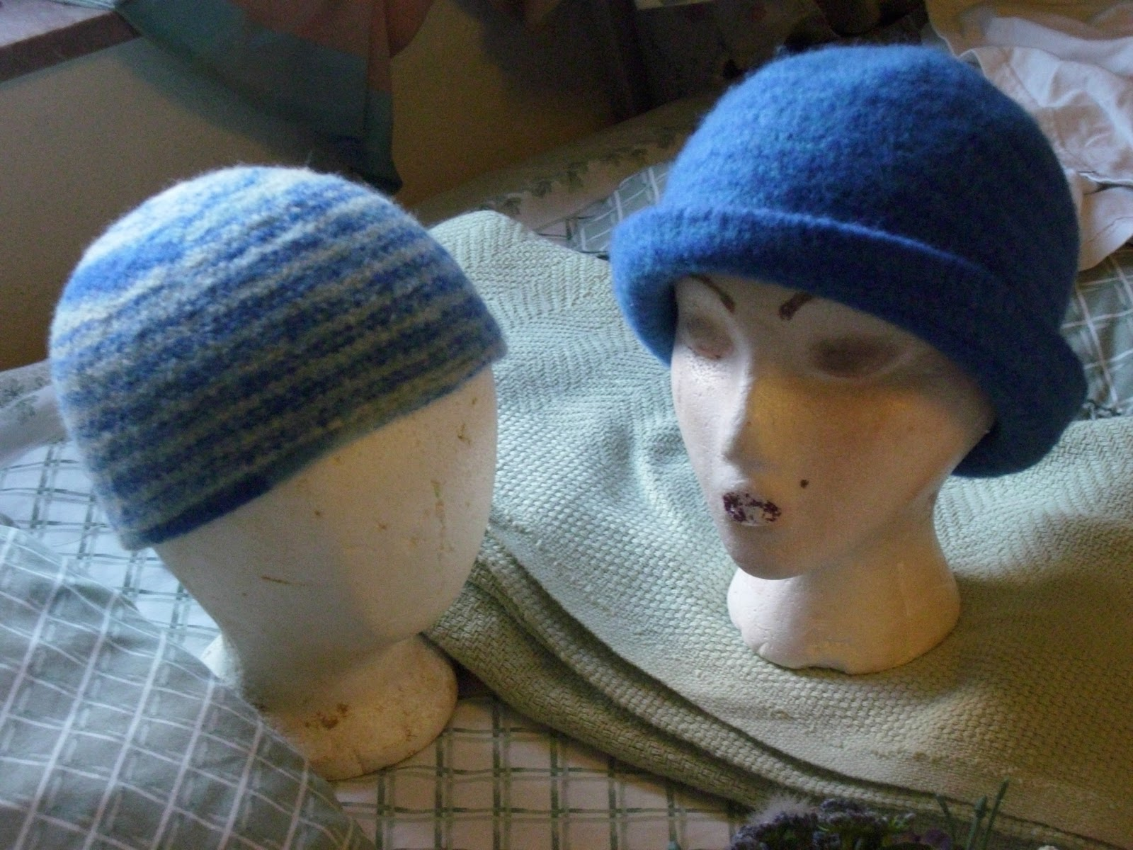 Out-Law Knittin\': Free Knit Felted Beanie Pattern