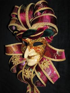 Венецианские карнавальные маски купить - Венецианская ... - photo#8
