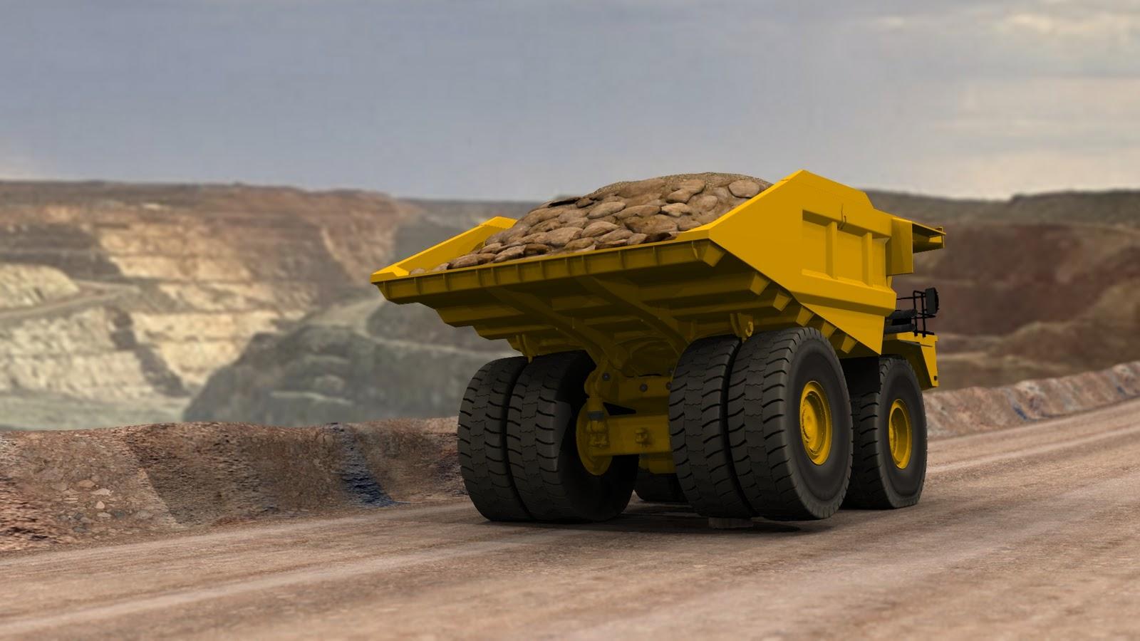 Etf mining trucks january 2011 - Mining images hd ...