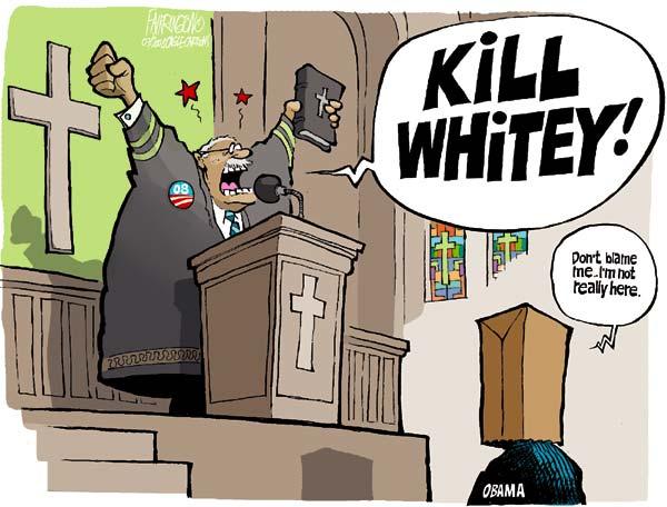 reverend wright racist