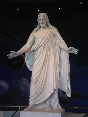 large statue of Jesus