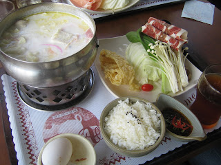 milk based hot pot
