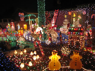 holiday lights @ 5309 W. Barbara Ave., Glendale, AZ