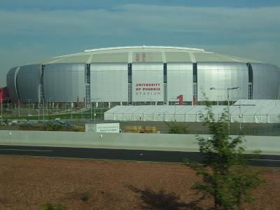 view of University of Phoenix Stadium