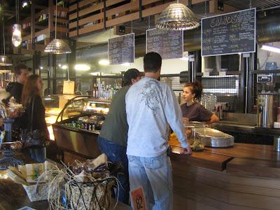 Foodbar - cashier area