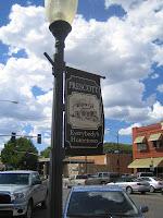Prescott - welcome sign