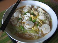 Patty's noodle soup