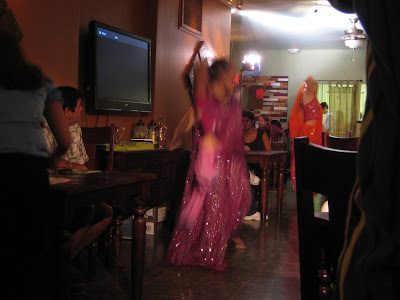 The Dhaba - belly dancers performing