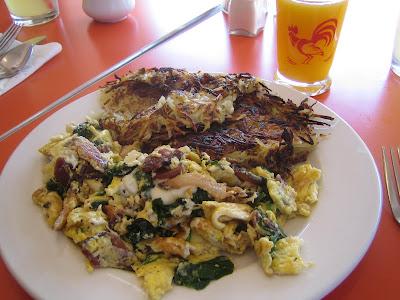 Matt's Big Breakfast - Salami Scramble
