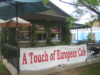 A Touch of European Cafe - exterior