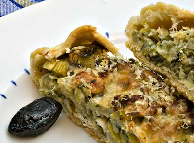Open-Face Leek Tart