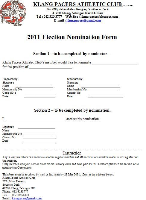 teacher of the year ballot template | just b.CAUSE