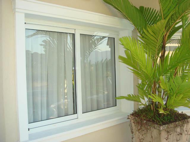 Alure alum nio e vidros janela de correr 02 folhas com - Pintura para aluminio ...