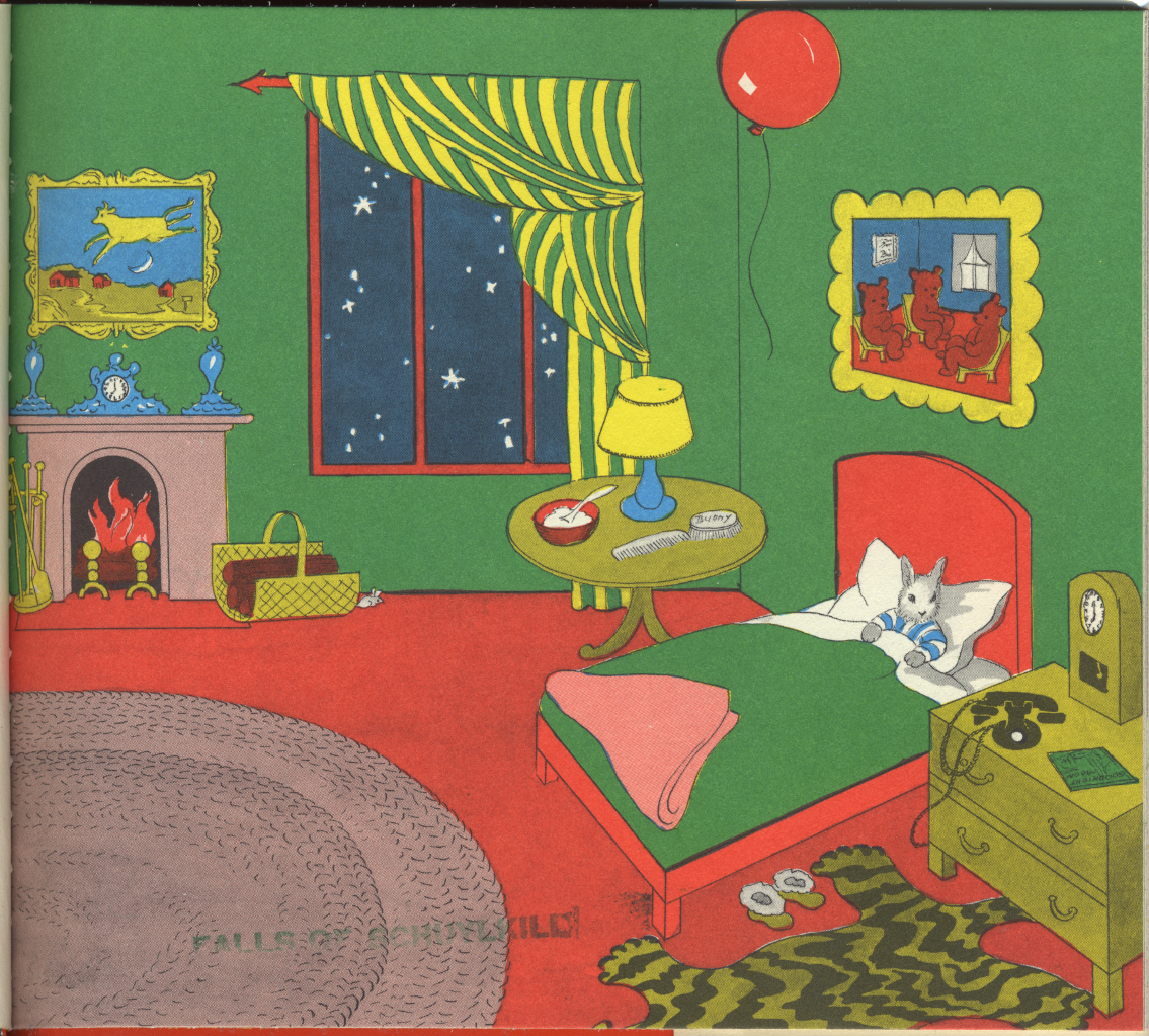 Goodnight moon pages the image kid has it for Goodnight moon tattoos