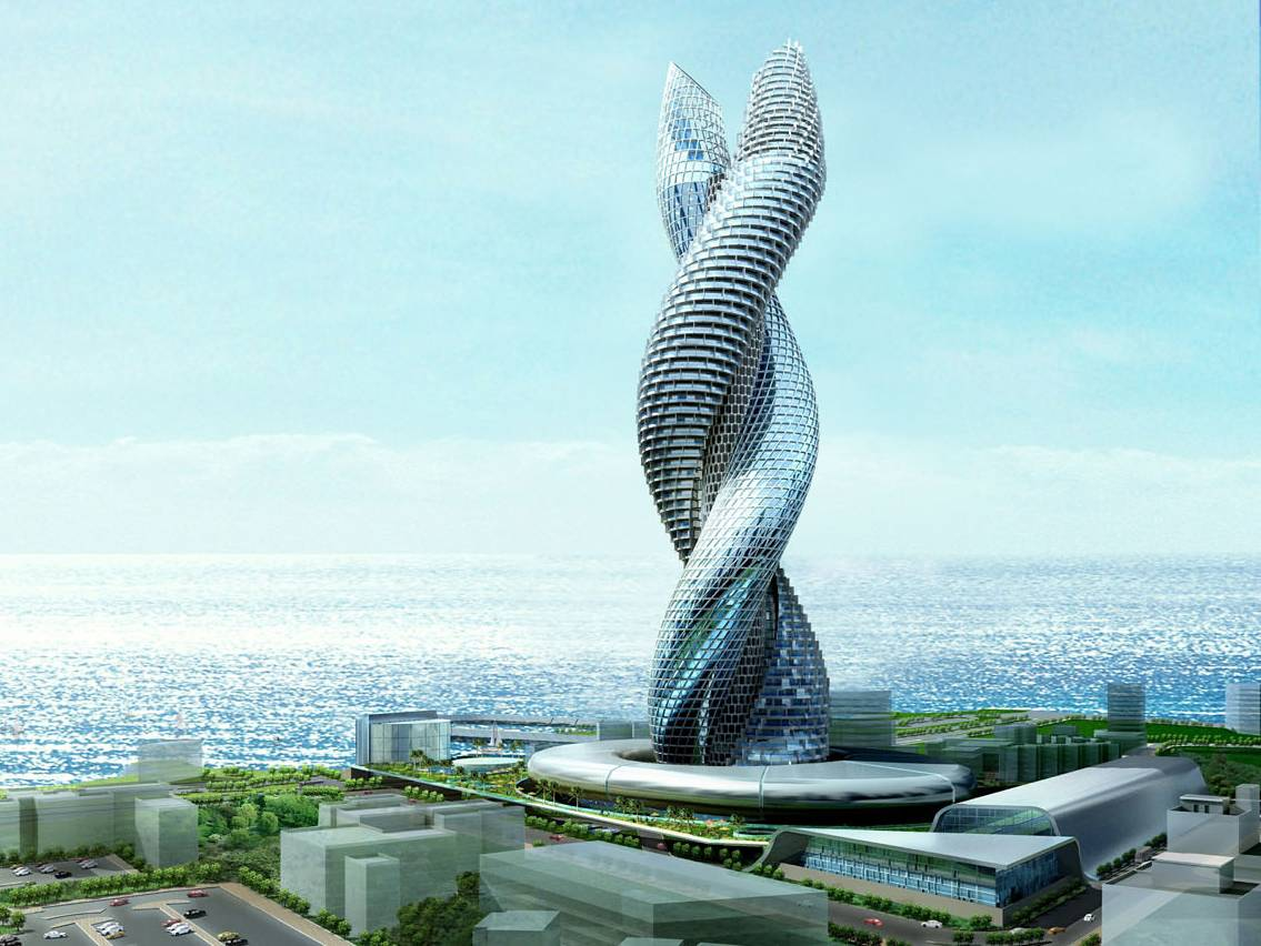 Cool stuff amazing building in kuwait for Amazing building designs