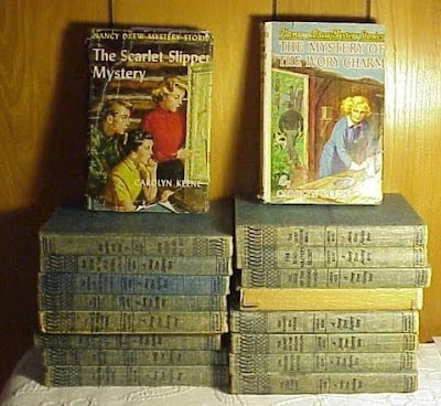 Lot 9 Nancy Drew, hardy boys and more Hardcover Books