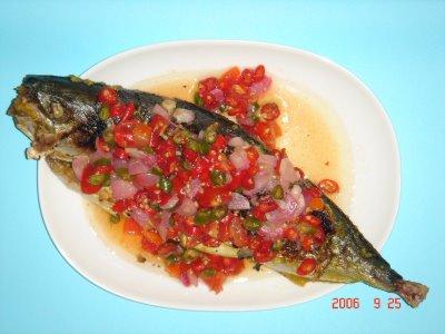 Menu Masakan Ibu: Ikan Bakar Sambal Dabu-dabu