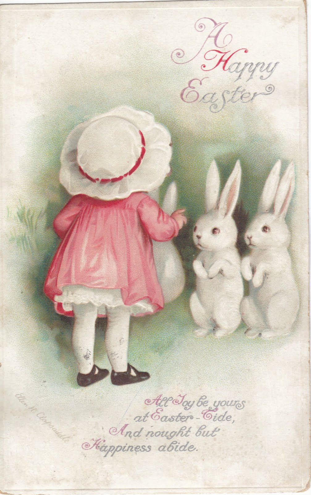 vintage easter bunny - photo #38