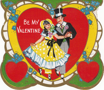 Vintage Valentine Postcard by golden_oldies