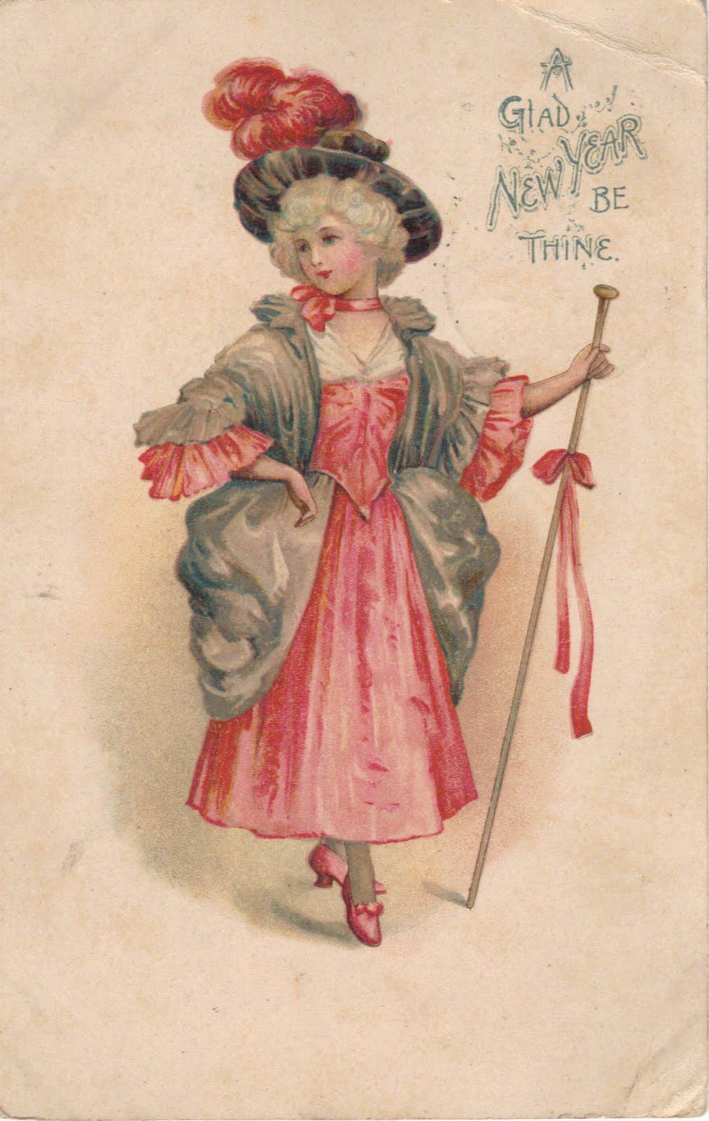 О старинные открытки 7