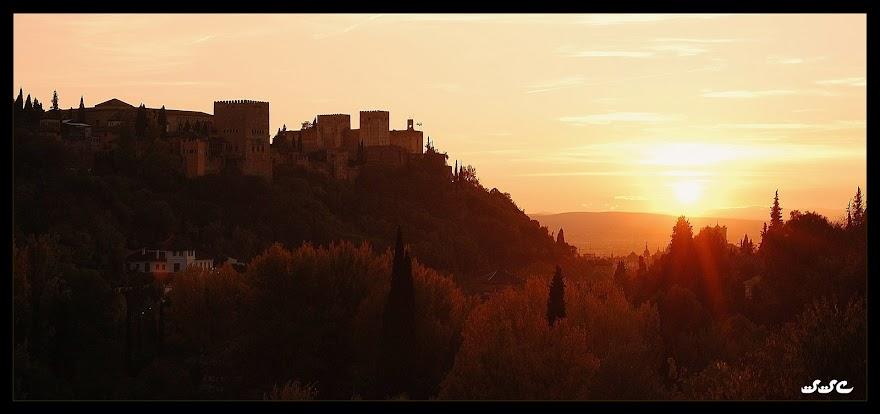 Así Atardece en Granada