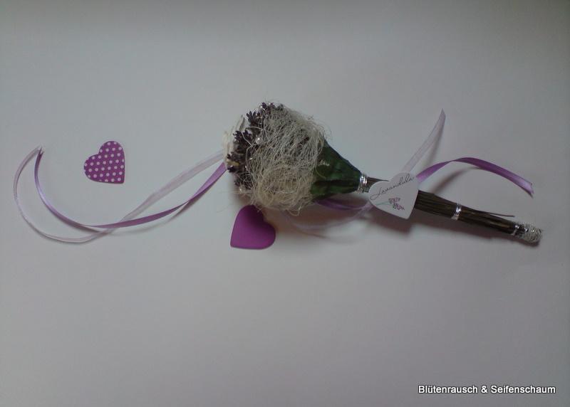 Bl tenrausch und seifenschaum lavendel dekoration - Dekoration lavendel ...