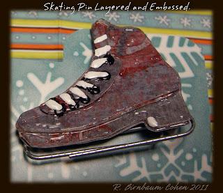 free figure skate svg