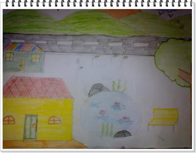 Lukisan rumah saya