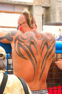 mohawk tattoo