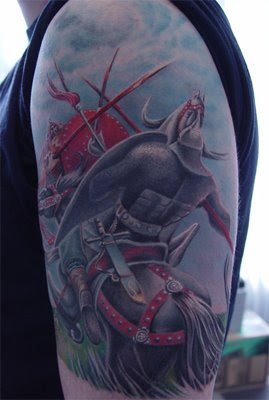 Knight tattoo