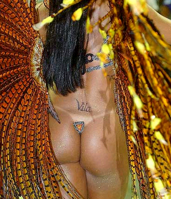 Vila - Lower back tattoo