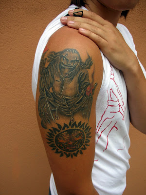 Mythology tattoo. Posted by ilim at 1:10 AM. Labels: Mythology tattoo