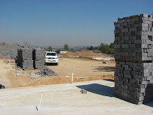 Building site of new home