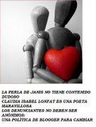 Apoyo la obra literaria de Claudia Isabel Lonfat