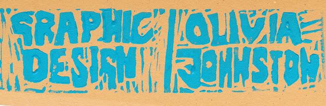 Graphic Design. Olivia Johnston.