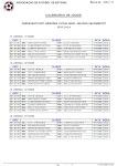 Calendário actual do CDR Águias Unidas