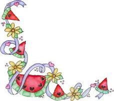 Raminho melancia e flores