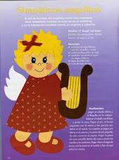 Anjinho com Harpa