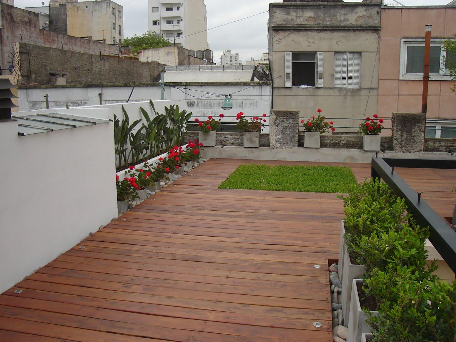 Estudio paisajismo terraza contempor nea san telmo for Paisajismo terrazas