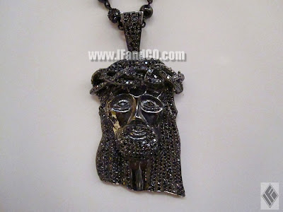 If co ben baller blog black jesus goodnight shown with the black gold beaded diamond rosary necklace mozeypictures Images