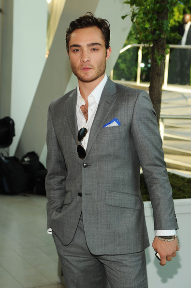 ed westwick girlfriend. Ed Westwick at the CFDA#39;s.