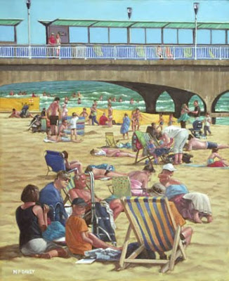 OIL_painting_bournemouth_beach_pier