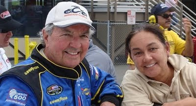 Hershel McGriff and NASCAR Race Mom