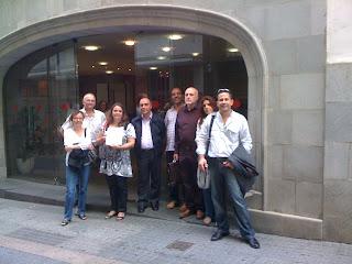 Presentación ILP ante el Parlamento de Canarias