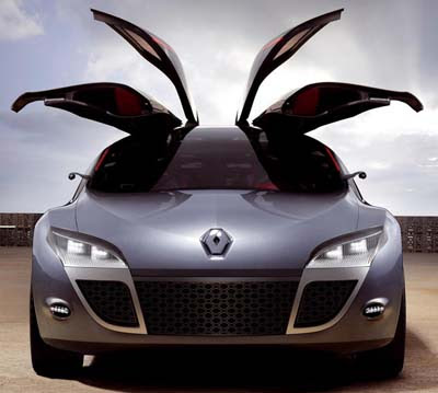 Modern Renault Megane Coupe Concept