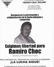 ¿Quién es Ramiro Choc?