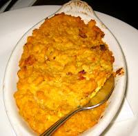 corn pudding at Mara's Homemade
