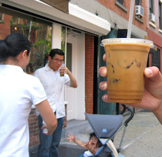 Iced Coffee at Abraco in NYC